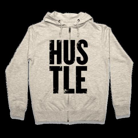Hustle Zip Hoodie