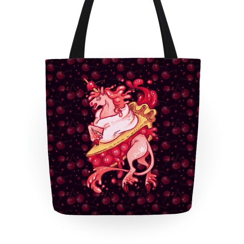 Kawaii Unicorn Pie Tote