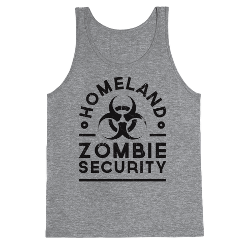 Homeland Zombie Security Tank Top