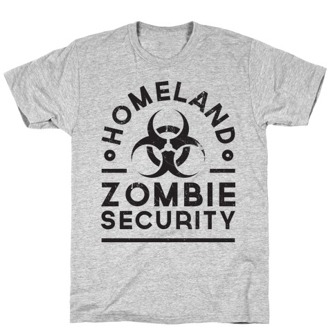 Homeland Zombie Security T-Shirt