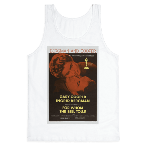 For Whom The Bell Tolls Tank Top