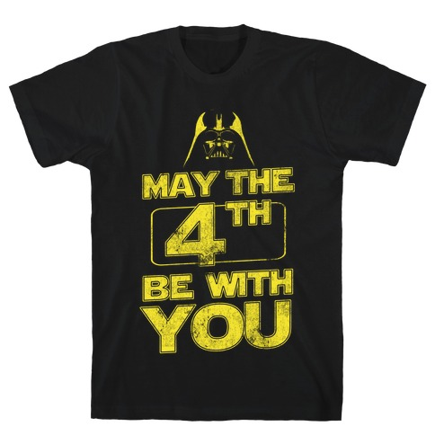 May the 4th Be With You (Vintage) Mens T-Shirt