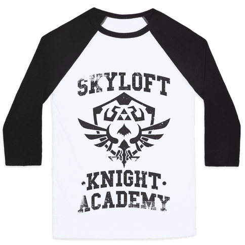 Skyloft Knight Academy Baseball Tee