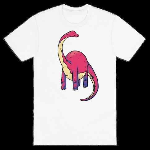 Derpy Dinosaur Mens T-Shirt