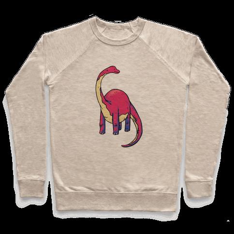 Derpy Dinosaur Pullover