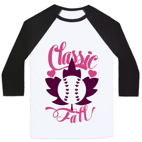 Classic Fall (Baseball World Series) Baseball Tee