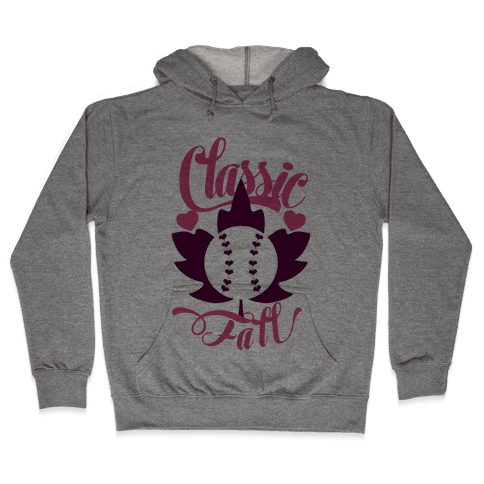 Classic Fall (Baseball World Series) Hooded Sweatshirt