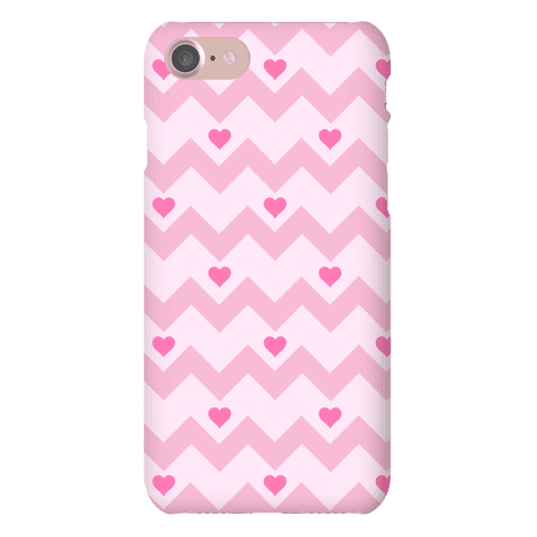 Chevron Heart Case Phone Case