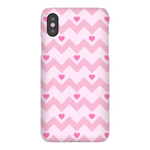 Chevron Heart Case Phone Case