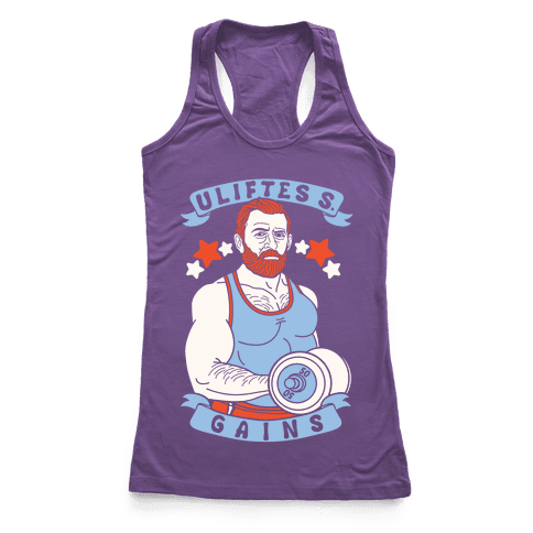 Uliftes S. Gains Racerback Tank Top