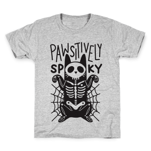 Pawsitively Spooky Kids T-Shirt