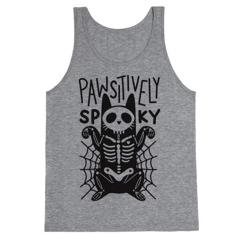Pawsitively Spooky Tank Top