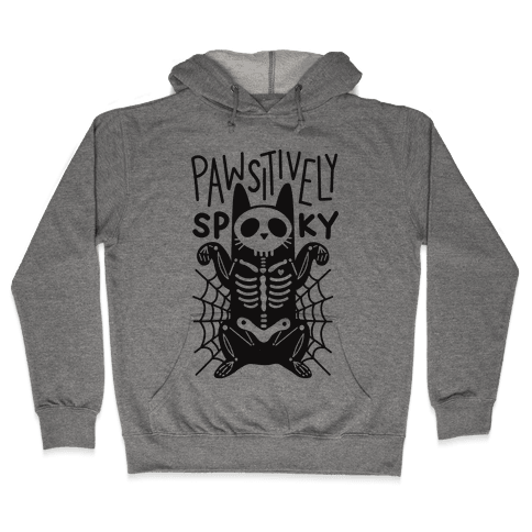 Pawsitively Spooky Hooded Sweatshirt