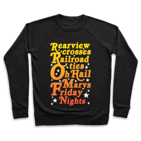 Rearview Crosses Pullover