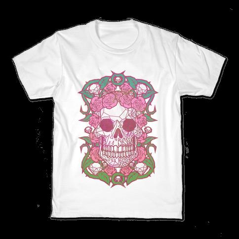 Diamonds and Roses Kids T-Shirt