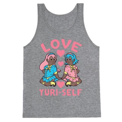 Love Yuri-Self Tank Top