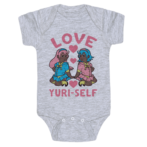 Love Yuri-Self Baby Onesy