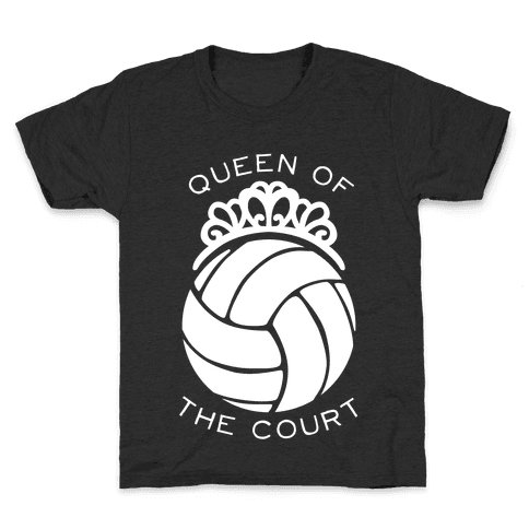 Queen of the Court (Dark Tank) Kids T-Shirt