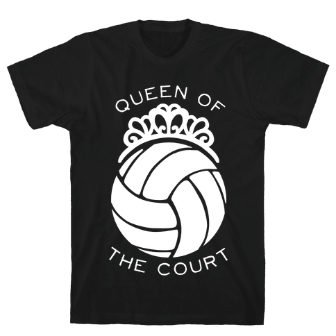 Queen of the Court (Dark Tank) Mens T-Shirt