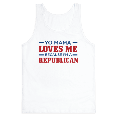 Mama Loves Republicans Tank Top