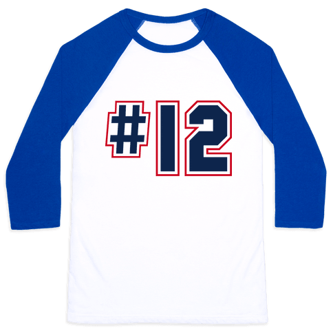 My favorite Player is #12 Baseball Tee