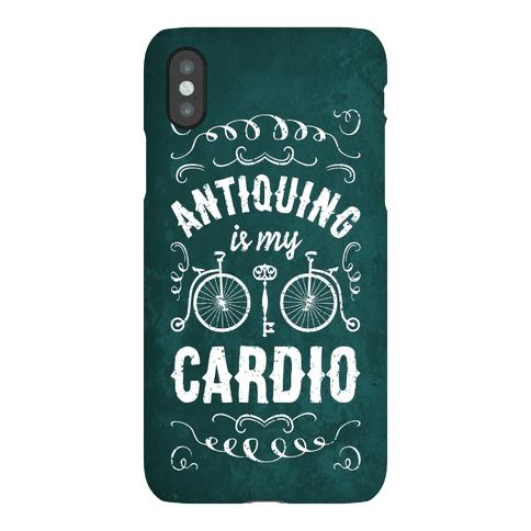 Antiquing Is My Cardio Phone Case