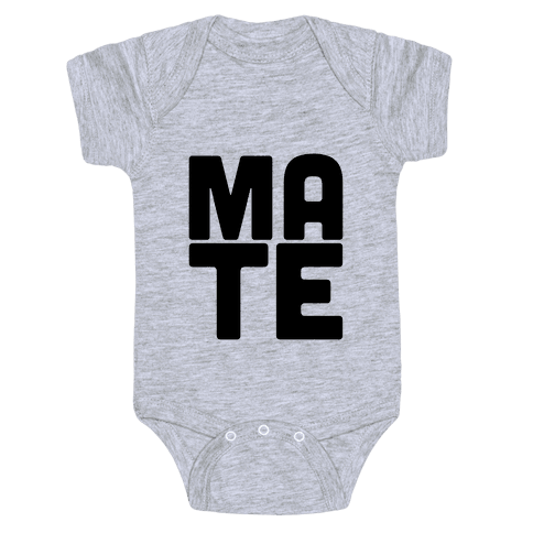 Soul Mate (Mate) Baby Onesy