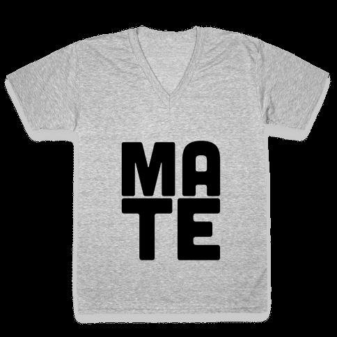 Soul Mate (Mate) V-Neck Tee Shirt
