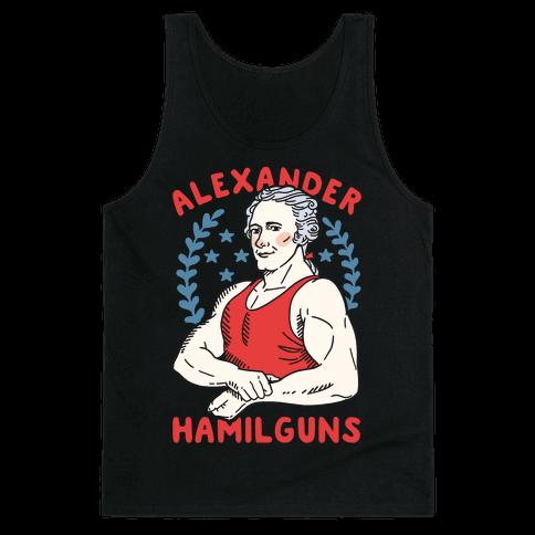 Alexander HamilGUNS Tank Top