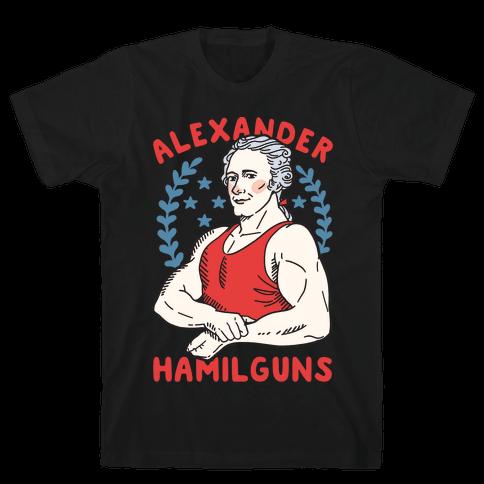 Alexander HamilGUNS Mens T-Shirt