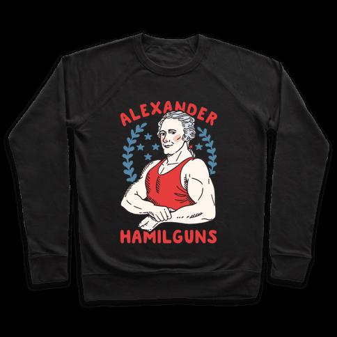 Alexander HamilGUNS Pullover