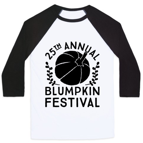 Blumpkin Festival Baseball Tee