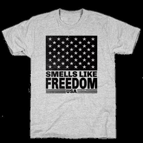 Smells Like Freedom Mens T-Shirt