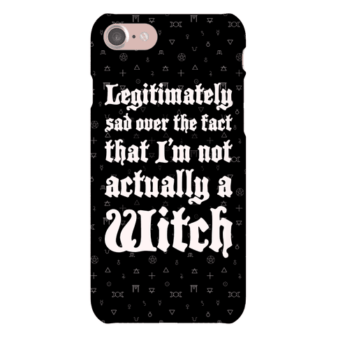 I'm Not A Witch Phone Case