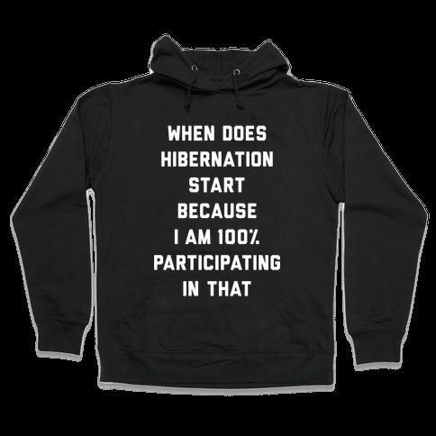 Hibernation Hooded Sweatshirt