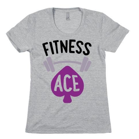 Fitness Ace Womens T-Shirt