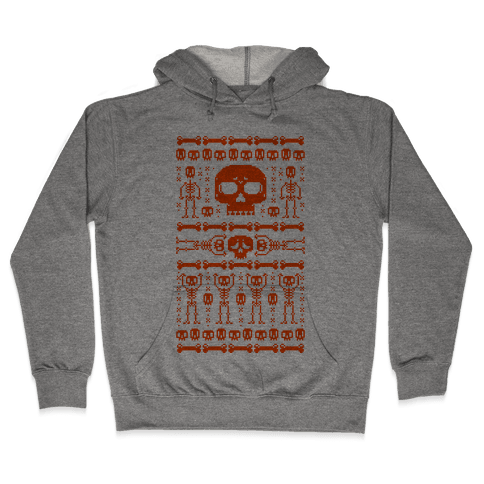 Ugly Skeleton Sweater Hooded Sweatshirt