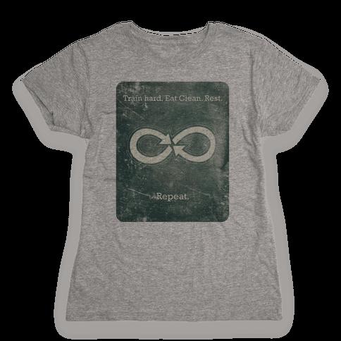 Repeat Infinity Womens T-Shirt
