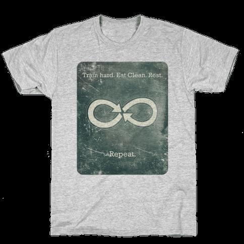 Repeat Infinity Mens T-Shirt