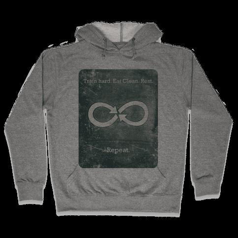 Repeat Infinity Hooded Sweatshirt