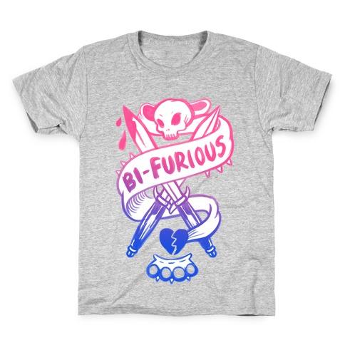 Bi-Furious Kids T-Shirt