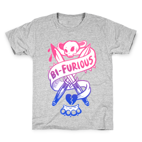 Bi-Furious Kids T-Shirt