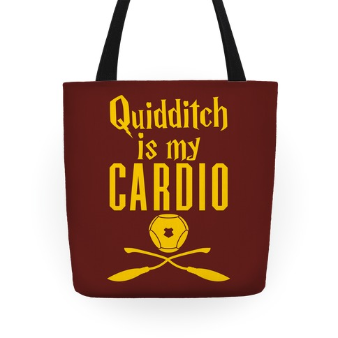 Quidditch Is My Cardio Tote
