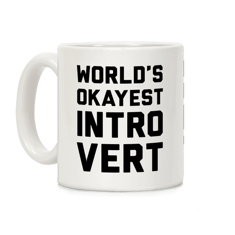 World's Okayest Introvert Coffee Mug