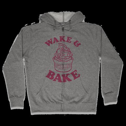 Wake and Bake Zip Hoodie