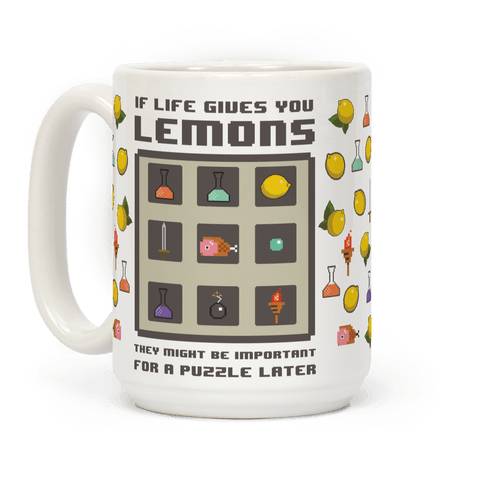 If Life Gives You Lemons They Might Be Important for A Puzzle Later