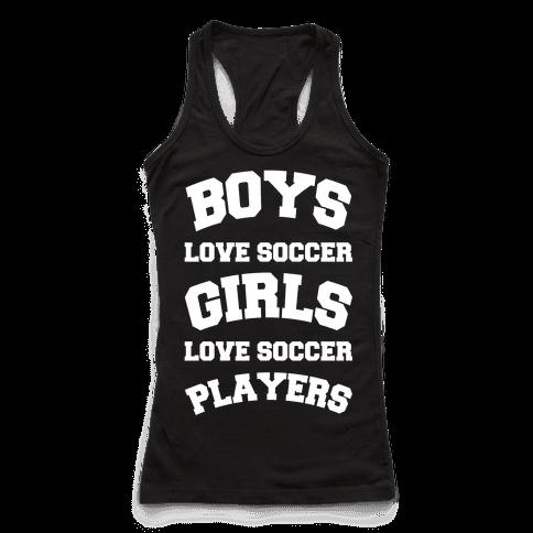 Boys and Girls Love Soccer