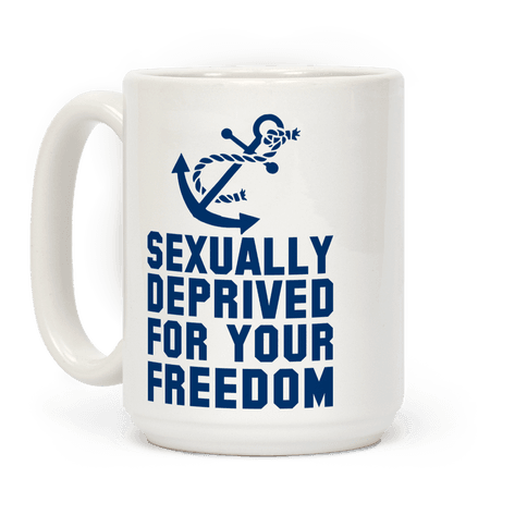 Sexually Deprived For Your Freedom (Navy)