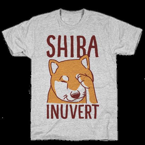 Shiba Inuvert Mens T-Shirt