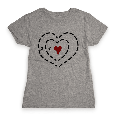 A Heart Two Sizes Too Small Womens T-Shirt